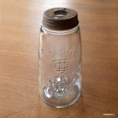 イン ザ ボトル ランプ メイソンズ Lサイズ ヴィンテージのガラス瓶 ペンダントライト / テーブルランプ / 照明 間接照明