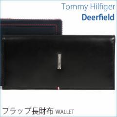 トミーヒルフィガー 財布 TOMMY HILFIGER トミー 長財布 メンズ ブラック 0092-5167/01