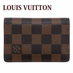 LOUIS VUITTON ルイヴィトン ヴィトン レディース メンズ カードケース ポケット・オーガナイザー ダミエ N63145