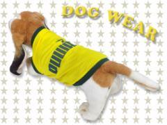 愛犬服 ドッグウェア ノースリーブ (メッシュタイプ) PUWAN 犬 服 dog wear 虫よけ メール便