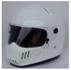 新登場 ATV-6    フルフェイス ヘルメット   S〜XXL  追加シールドは一枚+500円   白
