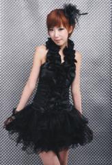 グローブ付黒のゴスロリ コスチューム ハロウィン ドレス