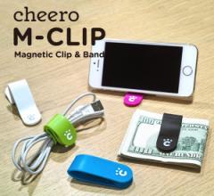 cheero CLIP/チーロクリップ 万能クリップ ケーブルクリップ マグネットクリップ【メール便OK】腕時計とおもしろ雑貨のシンシア
