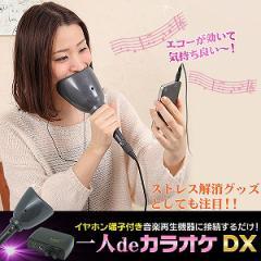 【送料無料】エコー+防音マイク、パソコン、スマホ対応『一人deカラオケDX』