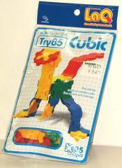LaQ 体験パック 立体 Try85 Cubic★日本製