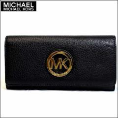 あす着 マイケルコース MICHAEL KORS 長財布 アウトレット 35f0gfte1l-black 新品