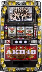 中古パチスロ実機 AKB48 コイン不要機付き