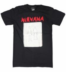 ロックTシャツ Nirvana ニルヴァーナ ノートブック