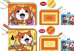 在庫処分妖怪ウォッチ パスケース(ヨコ)♪カード入れ カードケース 定期入れ
