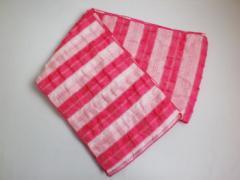 子供キッズ女の子浴衣ゆかたに 簡単ふわっふわ兵児帯ピンクライン