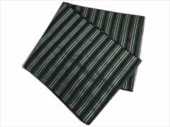 子供キッズ男の子浴衣&着物に 簡単ふわっふわ兵児帯黒白ライン