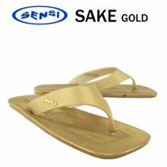 センシ セイク ゴールド/サイズ 7 (23.5cm) (SENSI SAKE) [メイド・イン・イタリアの高性能サンダル!!]