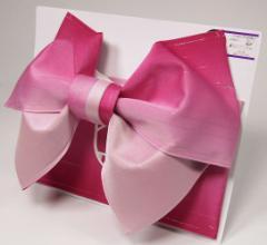 日本製 グラデーション リバーシブル ラメ入り 浴衣 浴衣帯 作り帯 結び帯 ワイン×ピンク