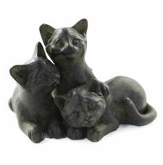 ラブリー3キャッツ【猫雑貨/猫グッズ/猫インテリア/猫の置物/猫オブジェ/インテリア雑貨/可愛い猫の置物ギフト/通販/ラッピング無料/】