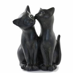 ほっぺにCHUキャット【猫雑貨/猫グッズ/猫インテリア/猫の置物/猫オブジェ/可愛い猫の置物/通販/ギフト/ラッピング無料】】