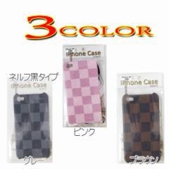 iphone4/4s用カバー チェック柄3カラー アイフォン/スマホ