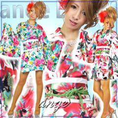 CPD1401-009/キャバドレス/花魁ショートドレス