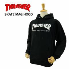 スラッシャー スケート マグ フード (THRASHER Skate Mag Crew スウェット プルオーバーパーカー)