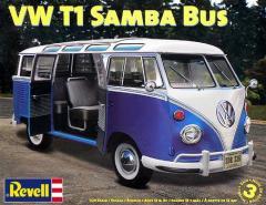 1/24 自動車プラモデル【Volkswagen フォルクスワーゲン T1 Samba Bus サンバ バス】Revell