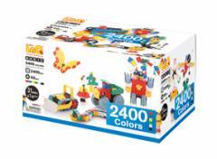 パズルタイプのブロック LaQ ラキュー ベーシックシリーズ【ベーシック 2400 カラーズ】2,400+60ピース/ヨシリツ★日本製