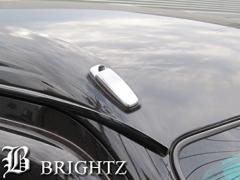 ハイゼットカーゴ S320V S321V S330V S331V メッキアンテナカバー Fタイプ【BKBLW-C4N8BS】