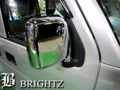 BRIGHTZ エブリィ DA64V メッキドアミラーカバー Bタイプ【MMC-EVR-LCB】