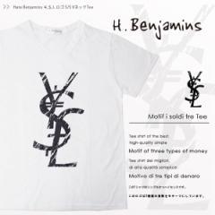 【送料無料】Hate Benjamins ¥$L ロゴ S/S VネックTee