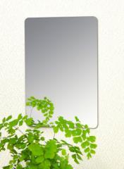 割れない鏡!安心・安全!セーフティミラーミニ 高さ21.5×幅14.5cm