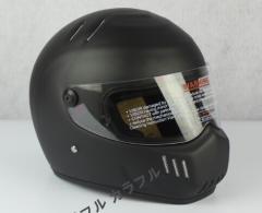 新登場 ATV-6   フルフェイス ヘルメット   S〜XXL  追加シールドは一枚+500円   マットブラック