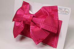 【日本製】簡単着付け!子供用 浴衣 結び帯 作り帯 ワイン蝶々