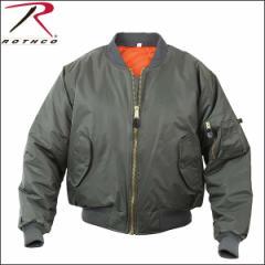 [あす着]ロスコ Rothco MA-1 メンズ ジャケット アウター FLIGHT JACKET フライトジャケット MA1 sage green メンズ 7323