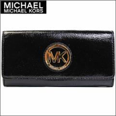 あす着 マイケルコース MICHAEL KORS 長財布 アウトレット 35t4gfte1a-black 新品