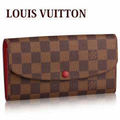 ルイヴィトン LOUIS VUITTON レディース メンズ 長財布 ダミエ ポルトフォイユ・エミリー 小銭入れあり N63544【新品】