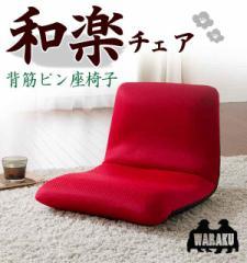 【送料無料】スマートシンプル和楽フロアチェア座椅子Sタイプ A455