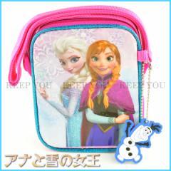 アナと雪の女王 ミニスクエアスリングバッグ ディズニー プリンセス Frozen ブルー fz91339 かばん 斜め掛け【Disney アナ雪 子供用】 ┃