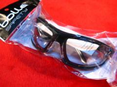 【遠州屋】 BOOM CLEAR LENS ゴーグル グラス 「サバゲ&バイク」 bolle SAFETY (市)♪