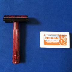 ★送料無料★ メルクール髭剃り(ひげそり)  樹脂945030(替刃11枚付)
