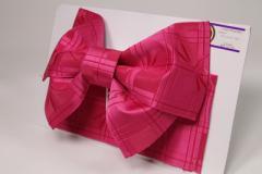 【日本製】簡単着付け!子供用 浴衣 結び帯 作り帯 ワイントンボ