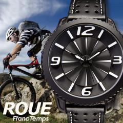 Franc Temps/ フランテンプス ROUE/ルウ サイクロンウィング メンズ腕時計