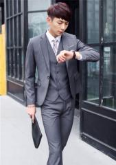 スーツ メンズ  ビジネススーツ メンズスーツ 3点セット 紳士服 スーツ・フォーマル メンズファッション 長袖【送料無料】 WV188