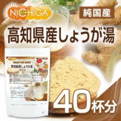 純国産 高知県産しょうが湯(GINGER TEA) 40杯分(15g×40袋) [02]