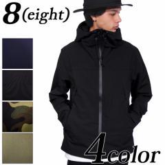 送料無料! マウンテンパーカー メンズ ジャケット 全4色 新作 マンパー ストレッチ ナイロン 8(eight) エイト 8