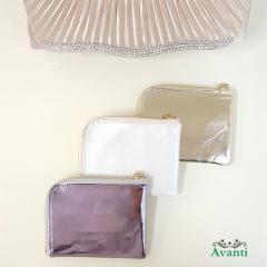 ミニサイフ007 パーティーバッグに入る小銭入れ カードケース 結婚式の財布 収納力抜群 コンパクトなサイフ 即納 送料無料