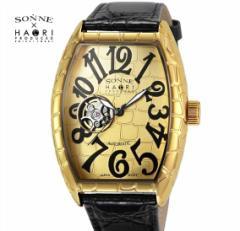 ゾンネ × ハオリ SONNE HAORI PRODUCED H005YG-JP メンズ 腕時計  自動巻き リストウォッチ 岩城滉一
