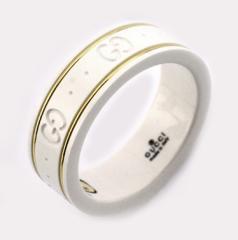 グッチ 指輪 リング 325964 ホワイトジルコニア/18金イエローゴールド グッチ リング グッチ 指輪 GUCCI