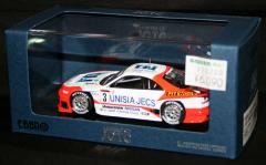 1/43 EBBRO エブロ LEGEND OF JGTC【UNISIA JECS SKYLINE JGTC 1998 HDF(ホワイト/オレンジ)】44255/MMP★特価