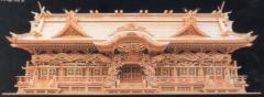 神道専科:神棚(内祭)極上 光雲 入母屋造り 七社 木曽桧: (受注生産)納期:都度照会