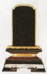 位牌:塗・位牌 金粉 巾広春日 (3.5寸〜6.0寸)
