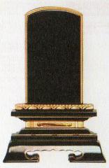 位牌:塗・位牌 金粉 巾広蓮華付春日 (3.5寸〜6.0寸)