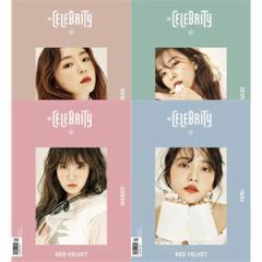 韓国芸能雑誌 The Celebrity(ザ・セレブリティー)2017年 春号 (Red Velvet表紙/カバー4種の中1種選択) (ステッカー付録付き)